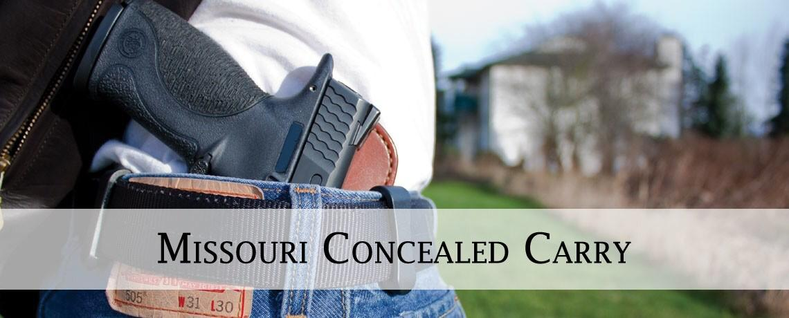 Missouri CCW - Conceal Carry Permit Class - Firearms ...