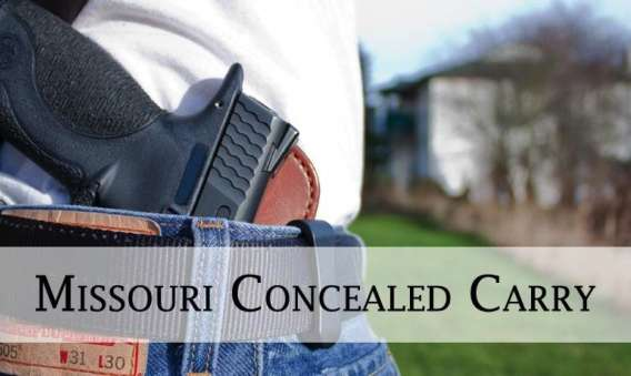 Missouri CCW – Conceal Carry Permit Class